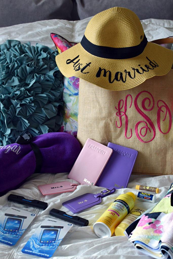 honeymoon bag creative wedding gift