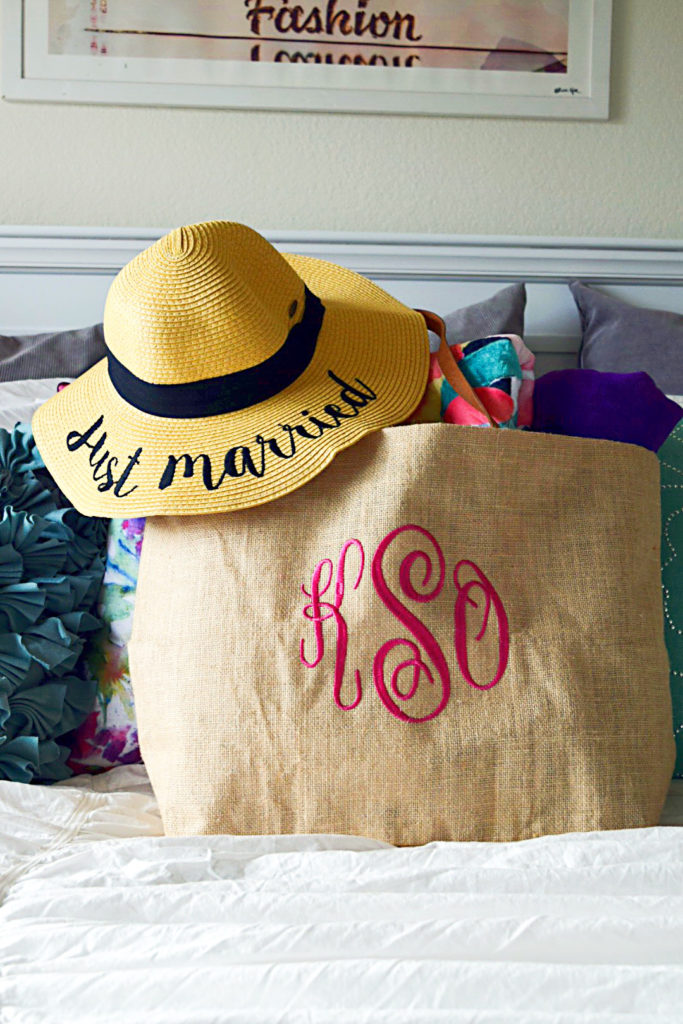 creative wedding gift honeymoon bag