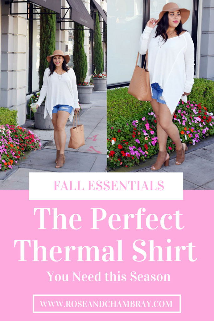 the perfect thermal shirt for fall