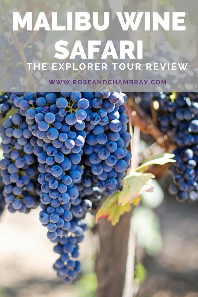 malibu wine safari tour