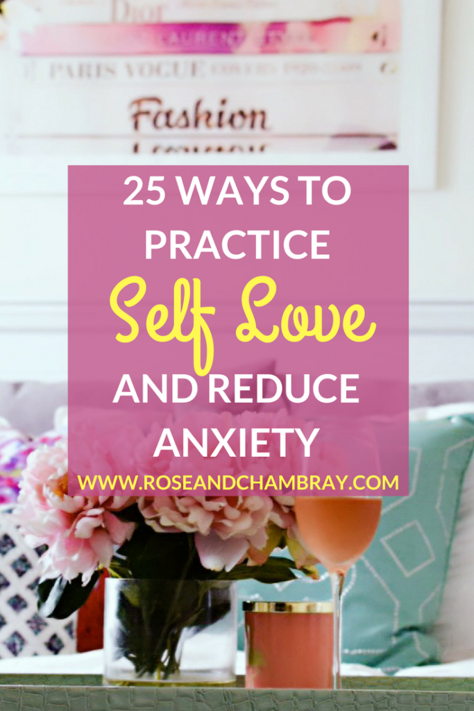 self love and anxiety management