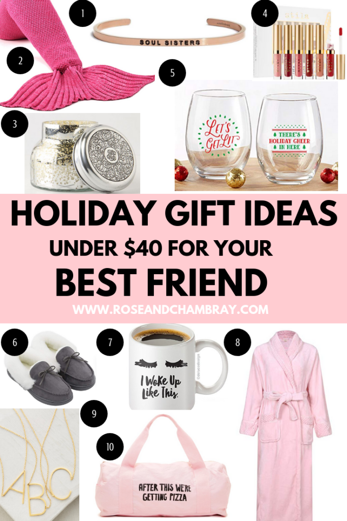 Holiday Gift Ideas For Your Best Friend