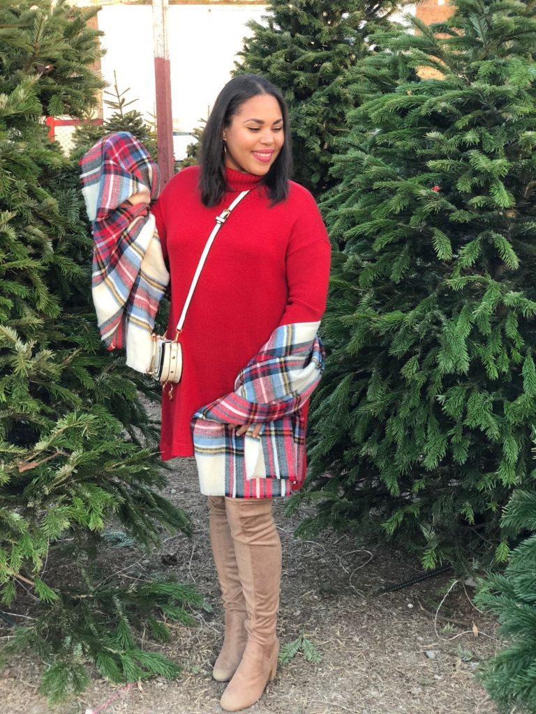 how to wear sweater dresses