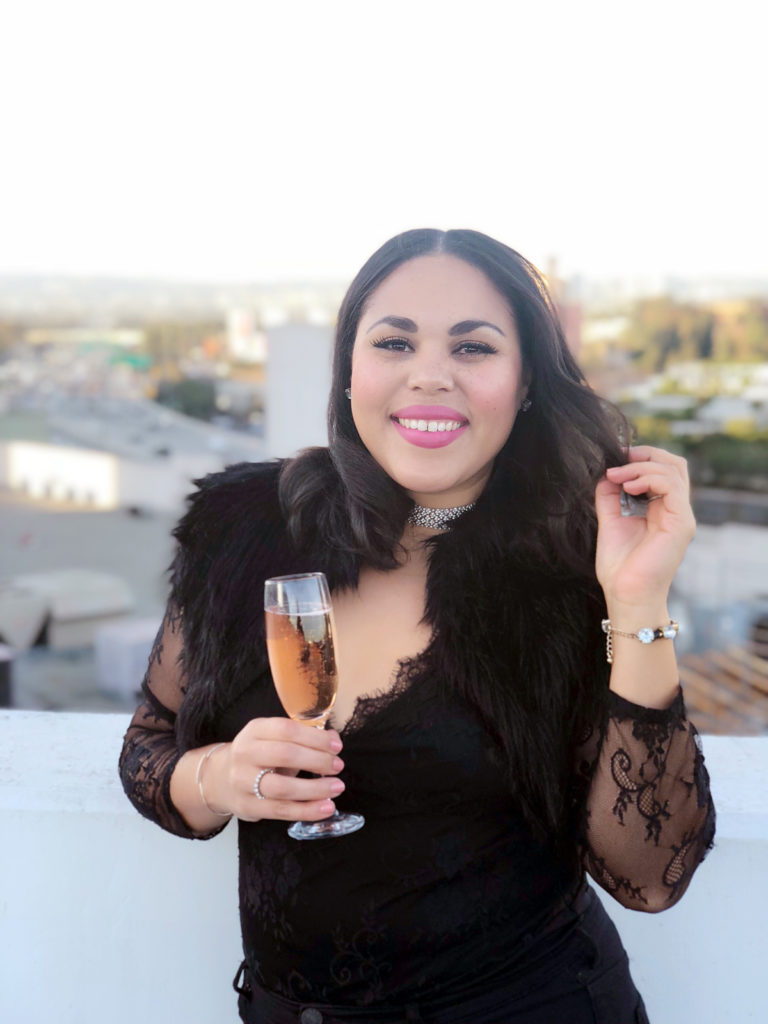 new years eve champagne