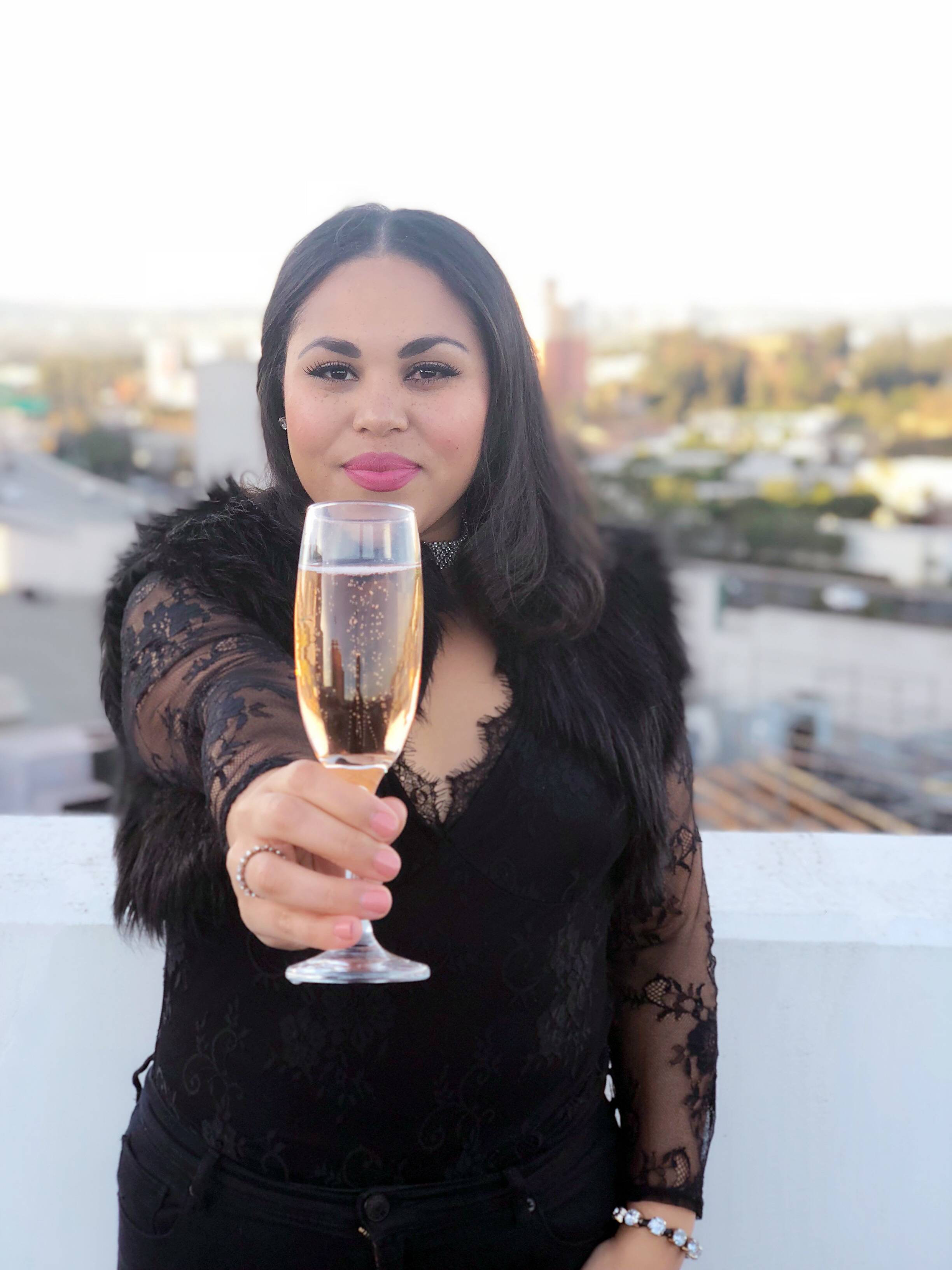New Years Eve Outfit Idea + 3 Things to Know About Champagne