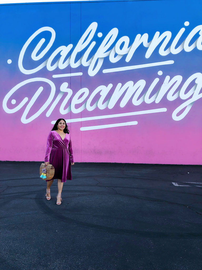 california dreaming mural los angeles