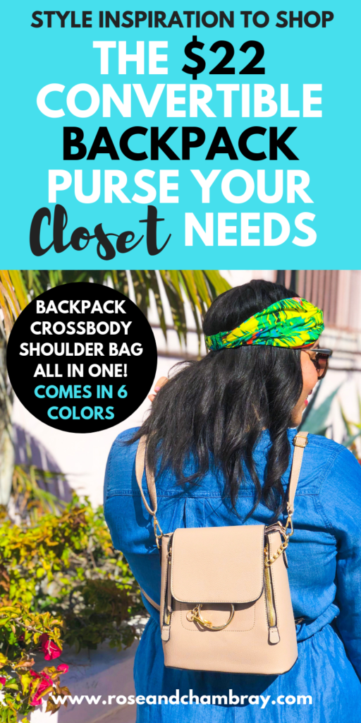 Backpack purses to shop for $22