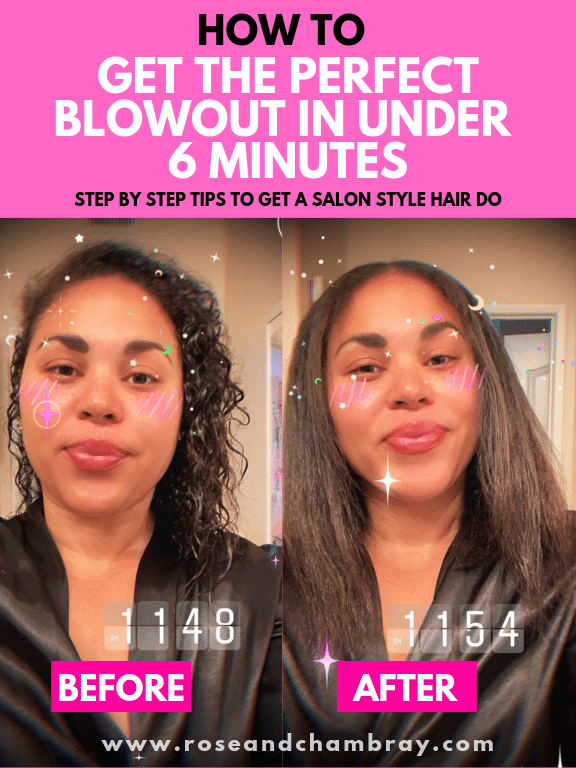 How To Get The Perfect Blowout At Home In Under 6 Minutes