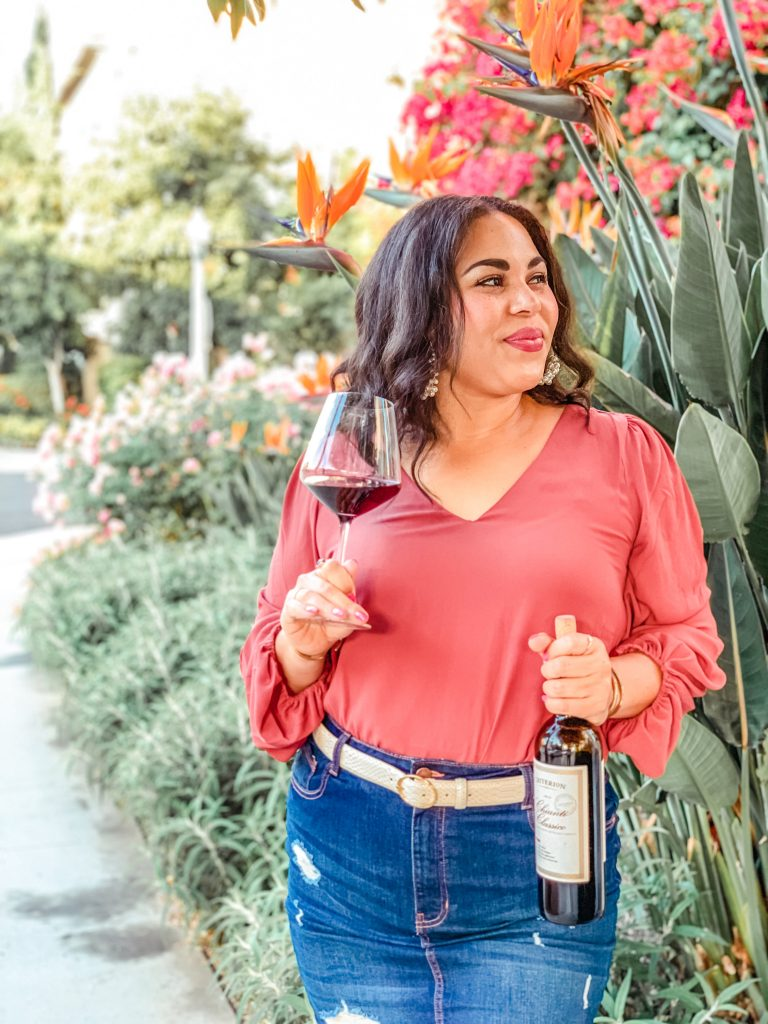 Fall Outfit And Wine Pairing: Chianti Classico & Snakeskin Accessories