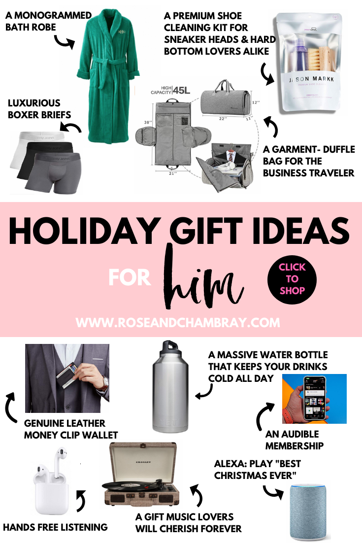 Gift Ideas For Your Boyfriend, Fiancé or Husband