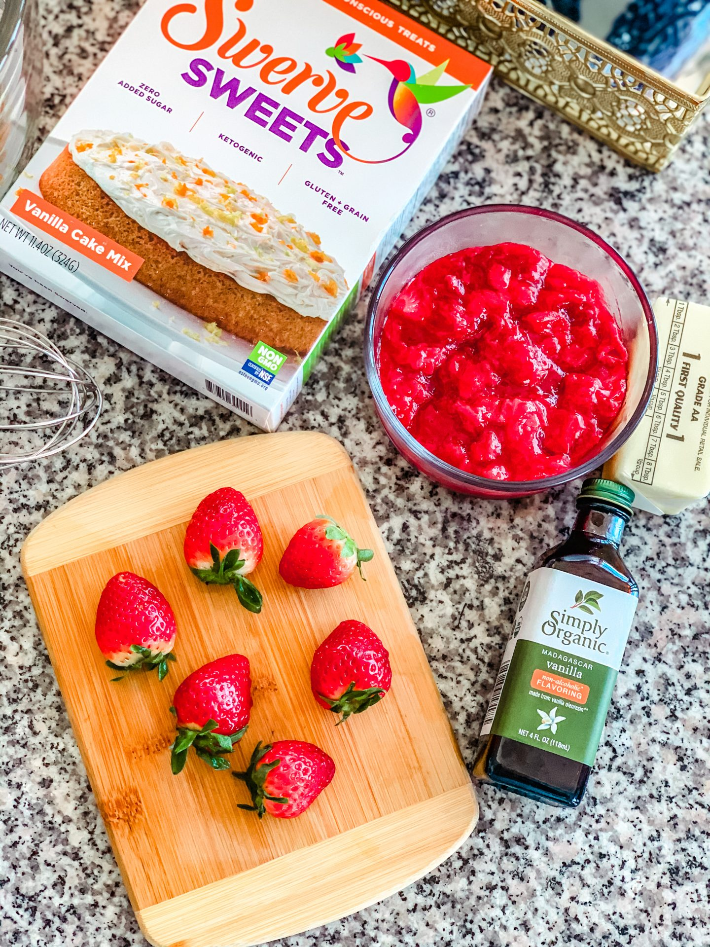keto cake ingredients